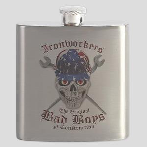 Bad Boys US Flag Flask
