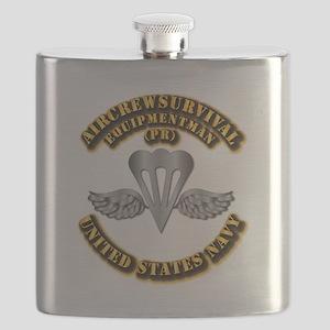 Navy - Rate - PR Flask