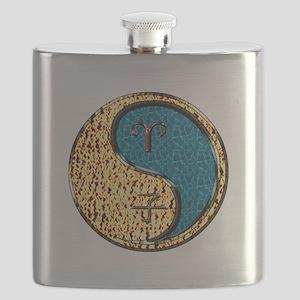 Aries & Water Rat Flask