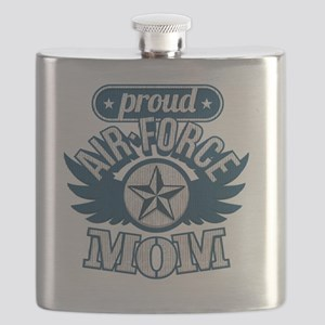 Proud Airforce Mom Flask