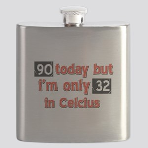 90 year old designs Flask