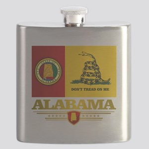 Alabama Gadsden Flag Flask