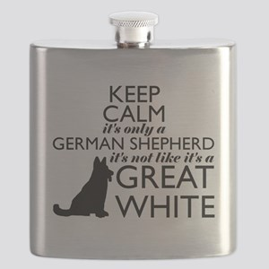 German Shephered NOT a Great White Flask