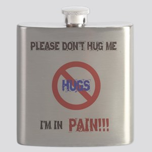 Please don't hug me, I'm in pain! Flask