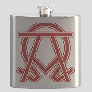 dexter-alpha-omega-symbol Flask