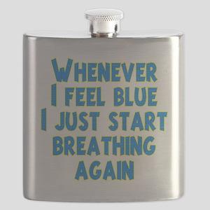 feel-blue-dk Flask
