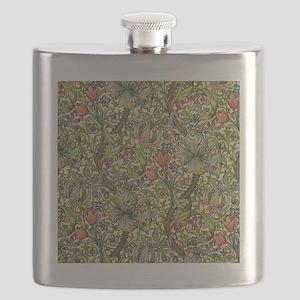 Morris Golden Lily Flask