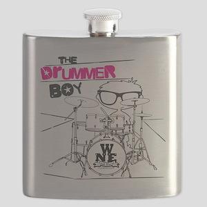 THE DRUMMER BOY T-SHIRT Flask