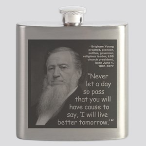 Young Live Quote 2 Flask