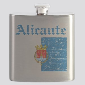 Alicante coat of arms Flask