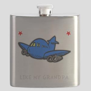 Pilot Grandpa -dk Flask