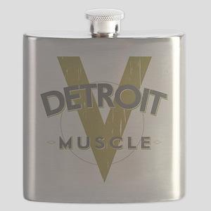 Detroit Muscle copy Flask