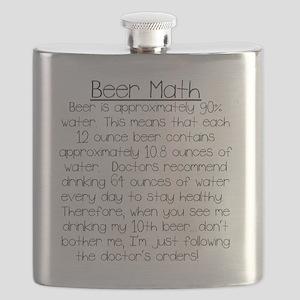 Beer Math Flask