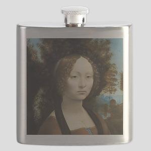 Leonardo da Vinci - Ginevra de Benci Flask