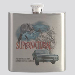SUPERNATURAL 1967 chevrolet impala Driver Pi Flask