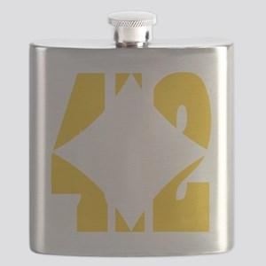 412 Gold/Whilte-D Flask