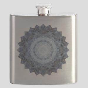Blue Star Kachina Yoga Mandala Shirt Flask