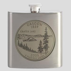 Oregon Quarter 2005 Basic Flask