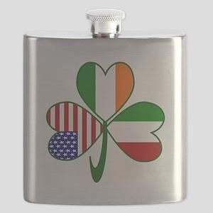 Shamrock of Italy Flask