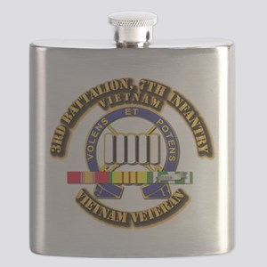 3rd Battalion, 7th Infantry Flask