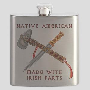 Native American/Irish Flask