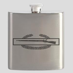 Combat Infantry Badge Flask