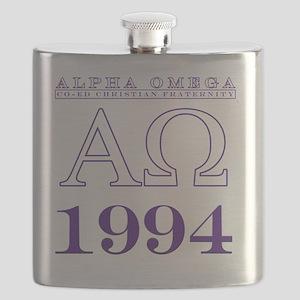 Front - Transparent Flask