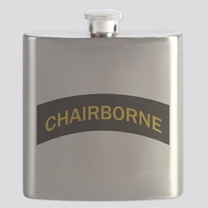 Chairborne military style tab Flask