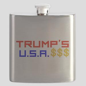 TRUMP'S U.S.A. Flask