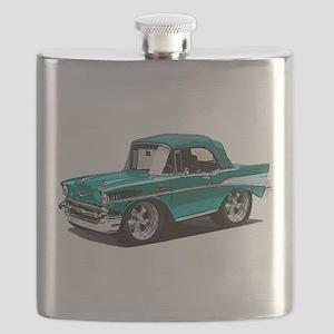 BabyAmericanMuscleCar_57BelR_Green Flask