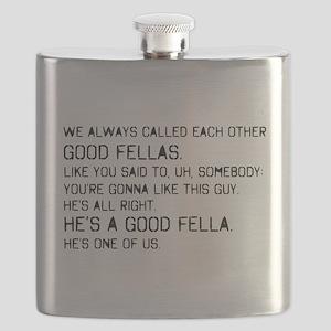 'Goodfellas Quote' Flask