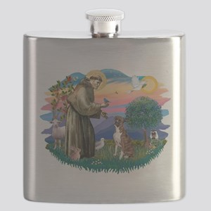 St.Francis #2/ Boxer (nat ea Flask