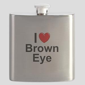 Brown Eye Flask