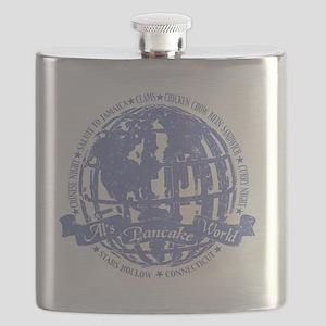 als pancake world blue Flask
