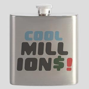 COOL MILLIONS! Flask