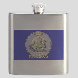 Kansas Quarter 2005 Flask