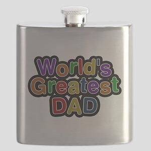 Worlds Greatest Dad Flask