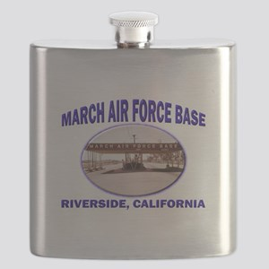 March Air Force Base Flask