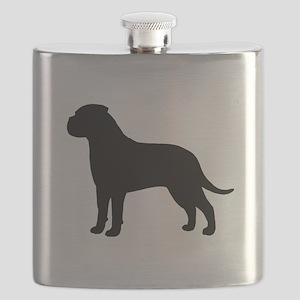 Bullmastiff Flask