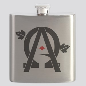 Alpha And Omega Combined Flask