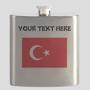 Custom Turkey Flag Flask