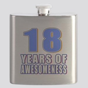 18 Years Of Awesomeness Flask