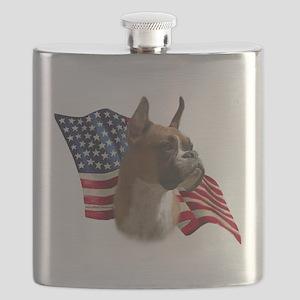 BoxerFlag Flask