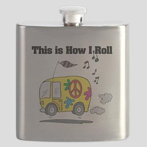 3-hippie bus Flask
