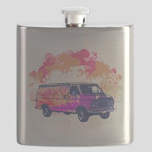 grunge retro hippie van Flask