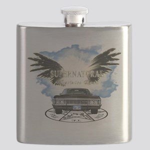 Supernatural destinies road Gaurdain Angel2 Flask