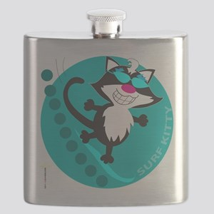 SURF KITTY Flask