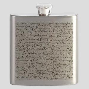 Ancient Manuscript Flask