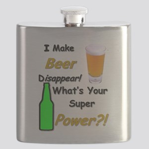 I Make Beer Disappear.. Flask