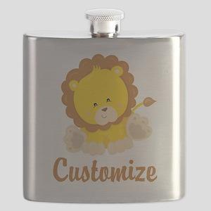Custom Baby Lion Flask